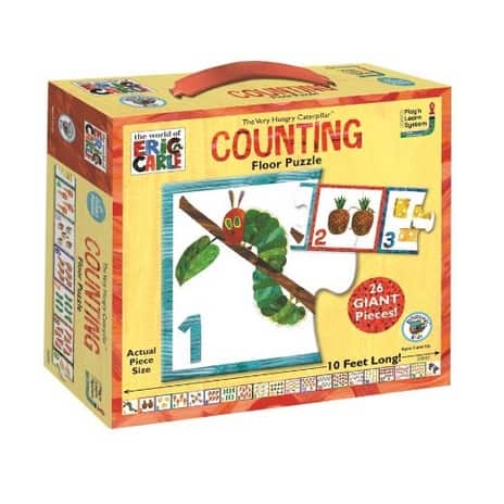 The Very Hungry Caterpillar Counting Floor Puzzle Only .15 (Was .99)
