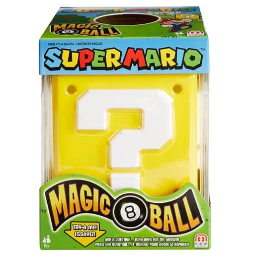 Super Mario Magic 8 Ball Only .71 (Was .89)