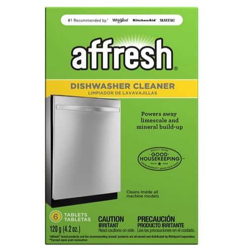 Affresh Dishwasher Cleaner 6-Count Only $3.62