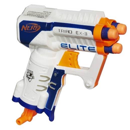 NERF N-Strike Elite Triad EX-3 Toy Only $3.99 (Was $9.99)