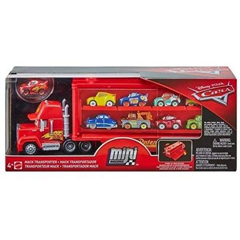 Disney Pixar Cars Mini Racers Mack Transporter Only .99