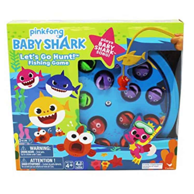 Baby Shark Fishing Game with Song Now .29 +  Off  Purchase