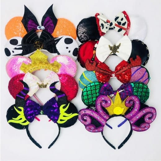 Limited Edition Villain Halloween Ears Only $13.99