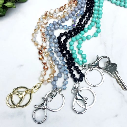 Hand Knotted Bead Lanyards Only .99