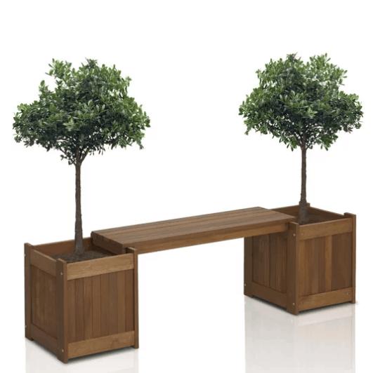 Wayfair: Arianna Rectangular Wooden Planter Bench Only .99 (Was 0) w/ Free Shipping