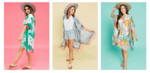 Cents of Style: Women's Kimonos ONLY $10 Shipped