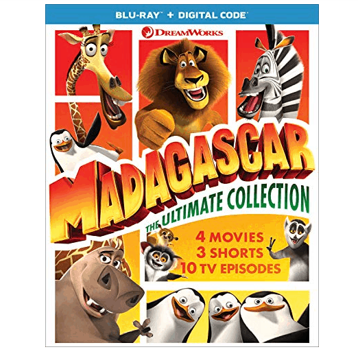 Madagascar: The Ultimate Collection [Blu-ray] Only .99 (Was .98)