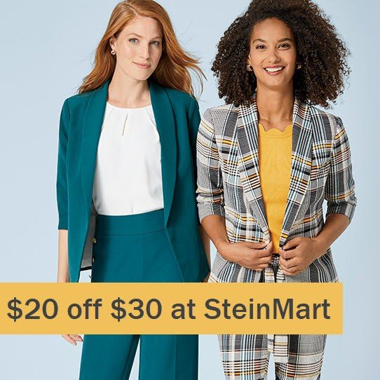 Stein Mart Coupon Code:  off Any  Purchase =  Naturalizer Shoes Only