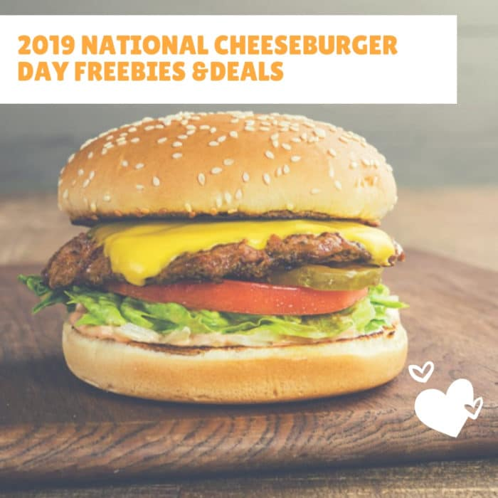 2019 National Cheeseburger Day Freebies & Deals for Tallahassee