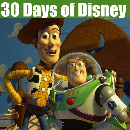 FULL 30 Days of Disney Movies List