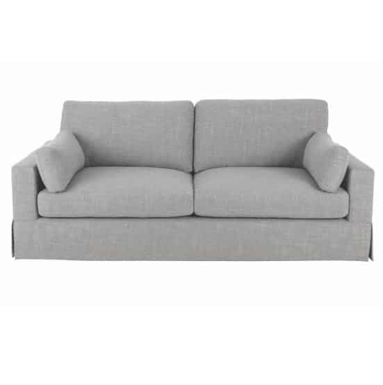 Addilyn Linen Smoke Sofa by Home Decorators Collection