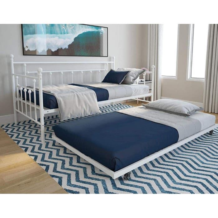 DHP Manila Twin Metal Daybed Frame and Twin Size Trundle Now 8.15 (Was 0)