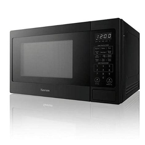 Kenmore 70919 Countertop Microwave, 0.9 cu. ft, Black Now .99 (Was .49)