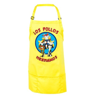 Breaking Bad Los Pollos Hermanos Yellow Apron Only .49 Shipped