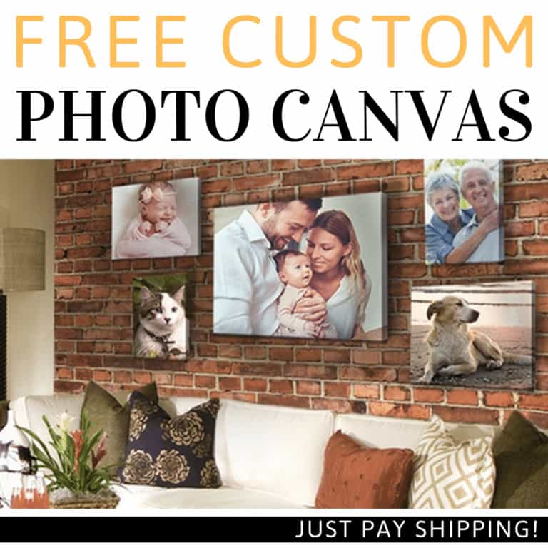 Free Custom photo canvas