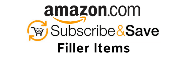 Amazon Subscribe & Save Filler Items
