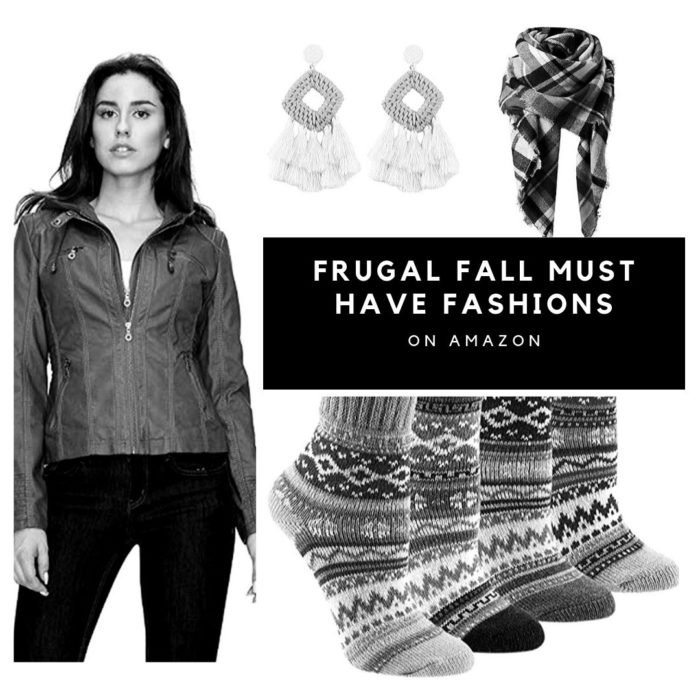 20 Frugal Fall Must Have Fashion Items on Amazon