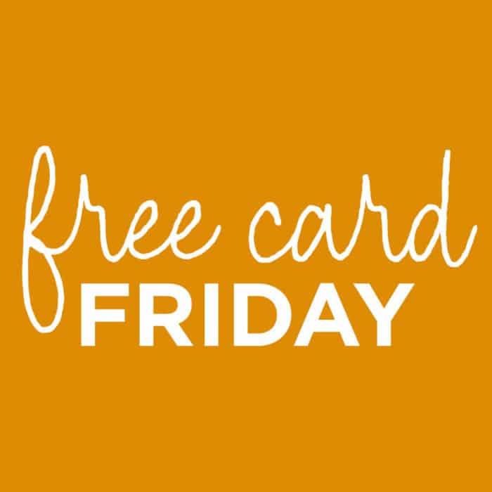 FREE Card Fridays at Hallmark Stores