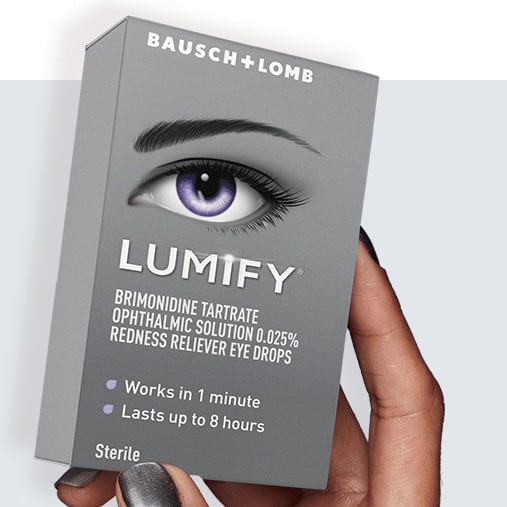 Free Sample of LUMIFY Redness Reliever Eye Drops