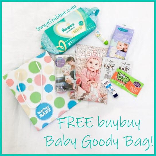 Free buybuy Baby Goody Bag
