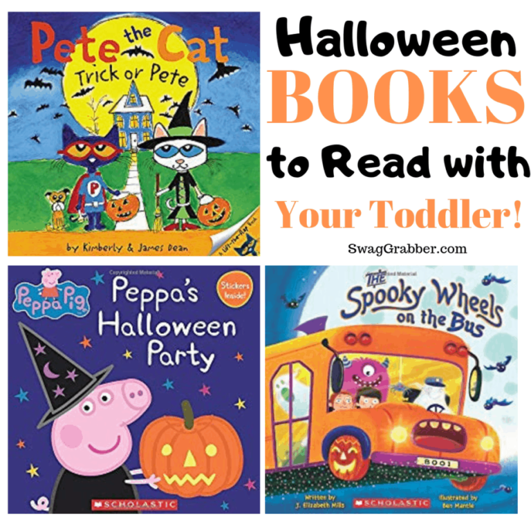 15 Not Scary Halloween Books to Read with Toddlers