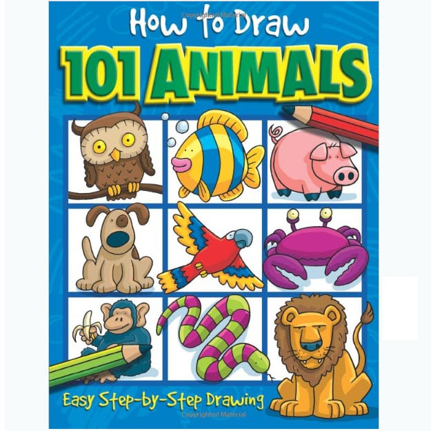 How to Draw 101 Animals Paperback Book Only .55 (Was .99)