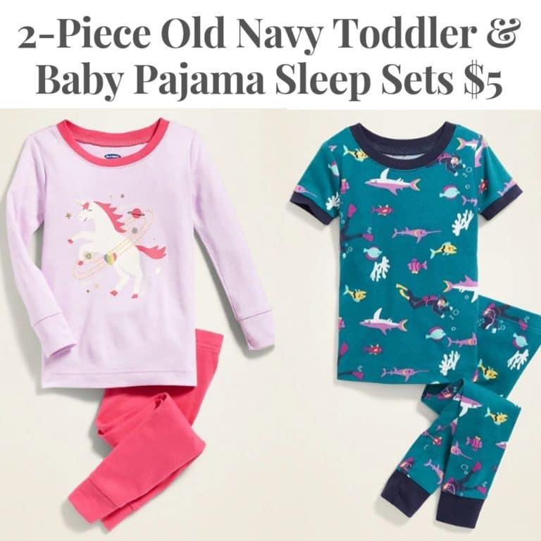 Toddler & Baby Pajama Sleep Sets