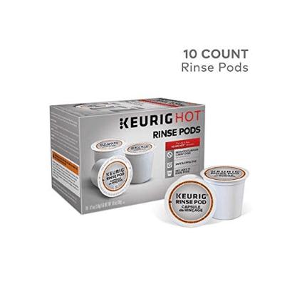 10 Keurig Rinse Pods .98 **Cleans Your Keurig Coffeemaker**