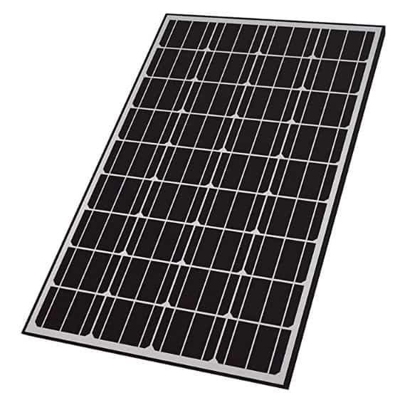 Home Depot: 165-Watt Monocrystalline Solar Panel for 12-Volt Charging 9 (2 Retail)