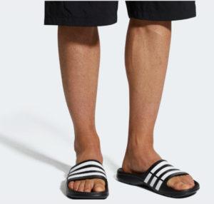 Adidas Mens Duramo Slides Sandals Only .00 w/ Free Shipping (Retail .00)