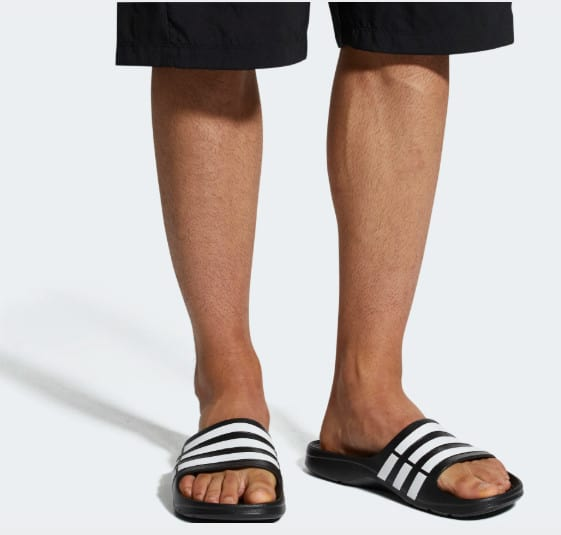 Adidas Mens Duramo Slides Sandals Only .00 w/ Free Shipping (Retail .00)