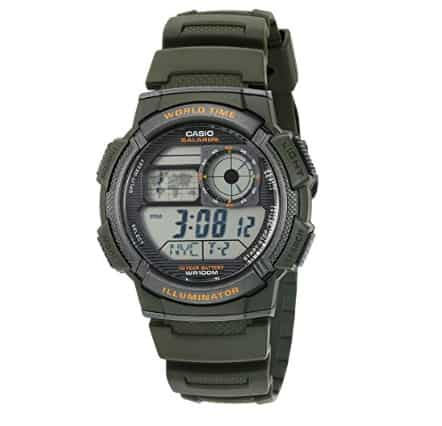 Casio Men's '10-Year Battery' Quartz Resin Watch .00