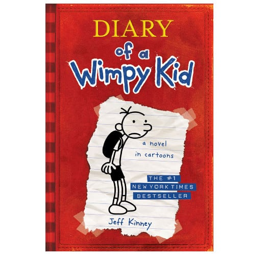 Seven Diary of a Wimpy Kid Books on Kindle ONLY $0.99 Each