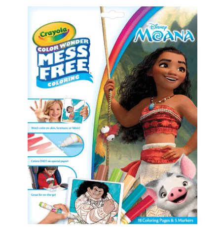 Crayola Color Wonder Moana Coloring Book Only .50 (Was .99)