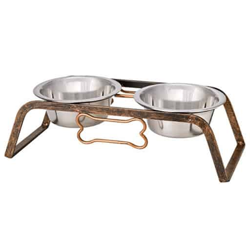 Loving Pets Black Label Collection Rustic Bone Diner for Dogs .98 (Retail: )