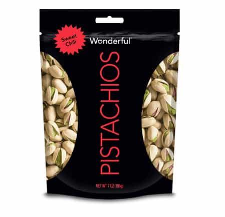 Wonderful Pistachios Sweet Chili Pouch .00 = FREE  Digital Credit
