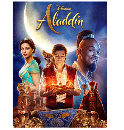 Rent the New Aladdin Movie for Only .99
