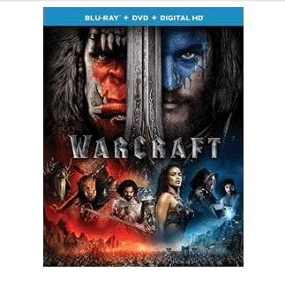 Warcraft Blu-ray+DVD+Digital HD Only .00 (Was .98)