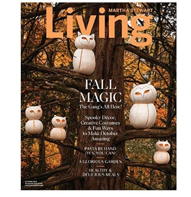 Martha Stewart Living Magazine Now .00 (Was .90)