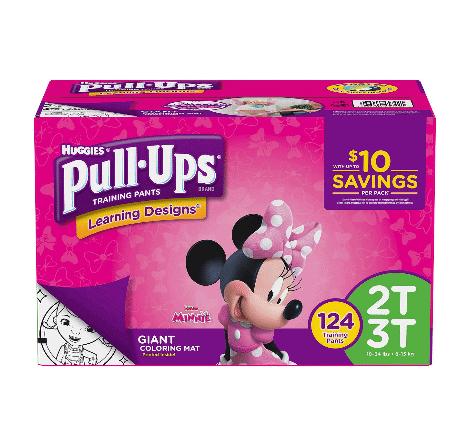 Buy 2 Pull-Ups Get a Free  Gift Card at Walmart