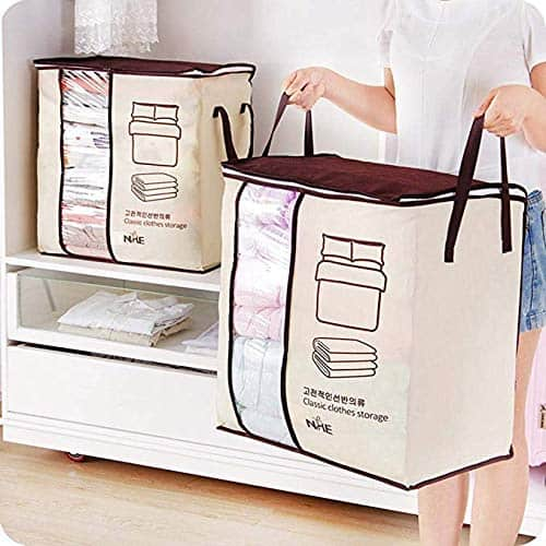 Storage Organizing Bag for Pillows, Duvet Cover, Clothing and More Now .99 (Was .95)