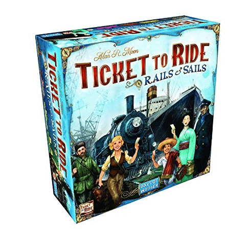 Ticket to Ride: Rails & Sails Now .66 (Was .00)