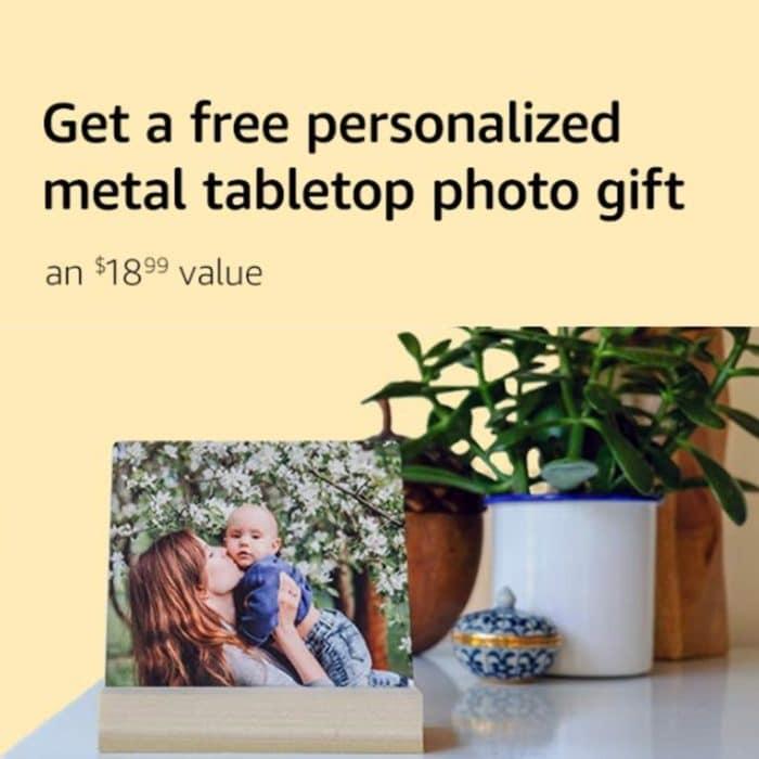 FREE Metal Photo Print for Select Amazon Prime Members