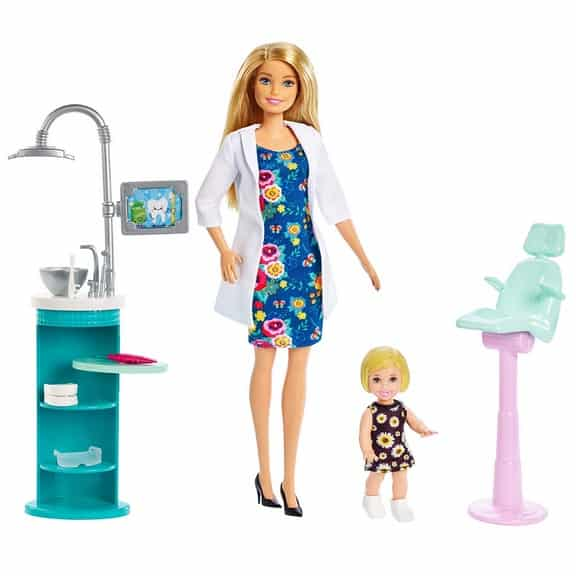 Barbie Dentist Doll & Playset Only .29