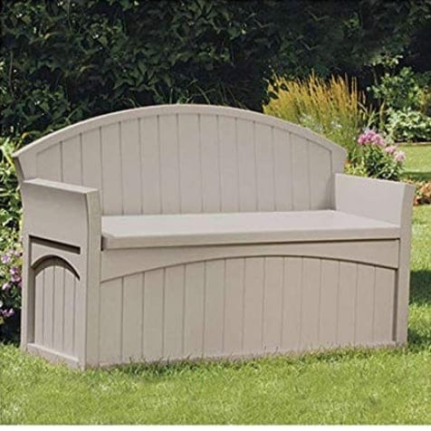 Suncast 50 Gallon Patio Bench with Storage  (Was 0)
