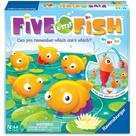 Ravensburger Five Little Fish Game Only .72 (Was .97)