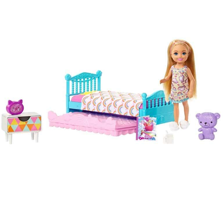 Barbie Club Chelsea Bedtime Playset Only .54