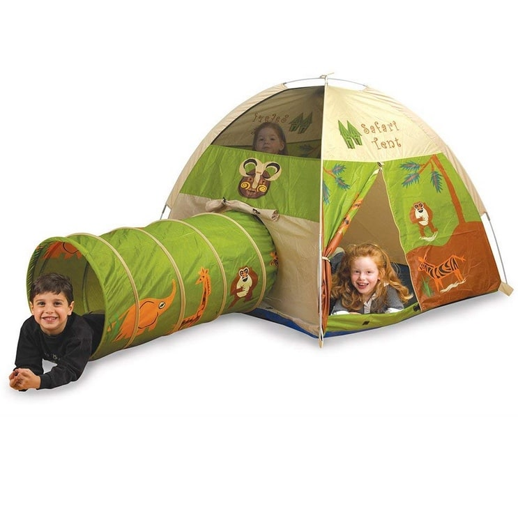 Pacific Play Tents Safari Fun Dome Tent Crawl Tunnel Combo Only .99 (Was .99)