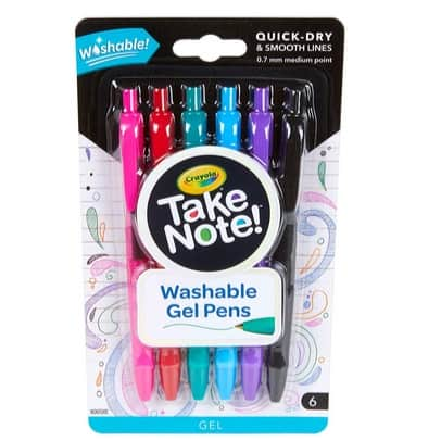 Crayola Take Note Washable Gel Pens Only .50