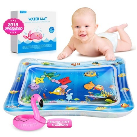 Tummy Time Baby Water Mat Now .99 (Was .99)